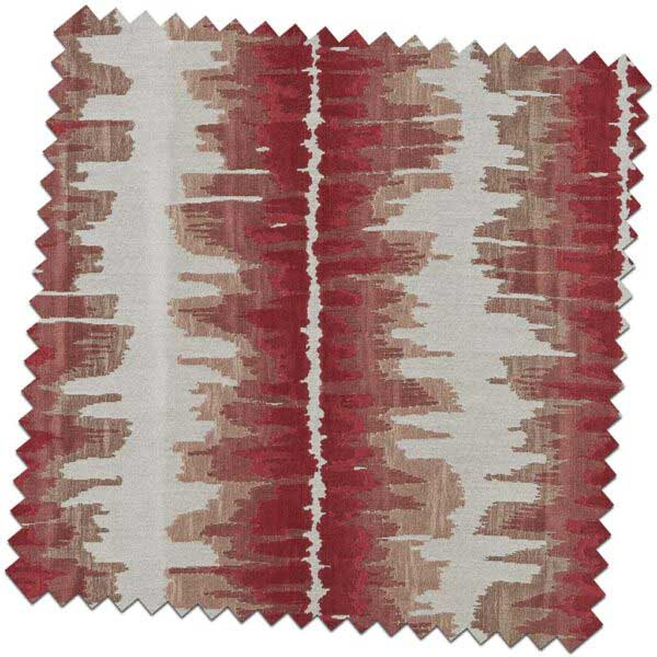 Bill-Beaumont-Woodstock-Beat-Cherry-Red-Fabric-for-made-to-measure-Roman-Blinds-600x600