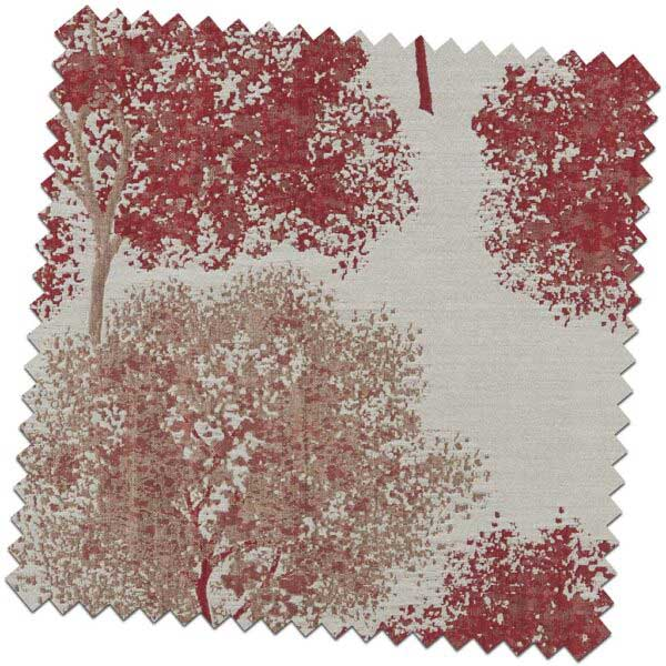Bill-Beaumont-Woodstock-Elation-Cherry-Red-Fabric-for-made-to-measure-Roman-Blinds-600x600
