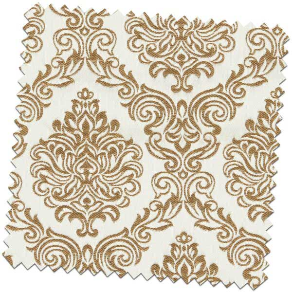 Bill Beaumont Amour Belle Copper Fabric for made to measure roman blinds