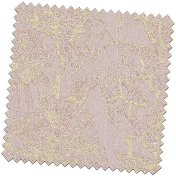 Bill Beaumont Amour Bouquet Lilac Fabric for made to measure roman blinds